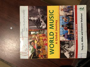 World Music A global Journey (3rd edition) for Sale in Baltimore, MD