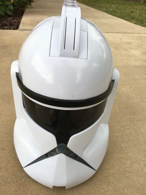 Star Wars Clone Trooper Electronic Helmet w/ Sound Effects for Sale in Grand Prairie, TX