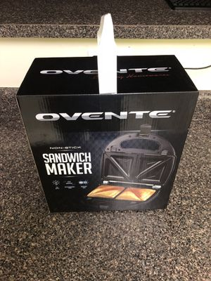 Ovente Sandwich Maker for Sale in Arlington, VA