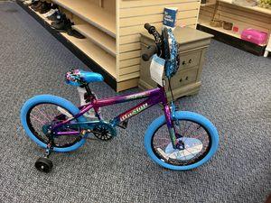 "Photo New 18"" Girls Illusion Bike With Training Whhels"