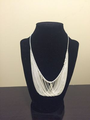 Brand new silver necklace. for Sale in Salt Lake City, UT