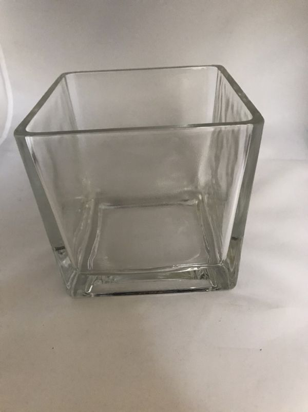 Glass Square Vase 5x5 For Sale In South El Monte Ca Offerup