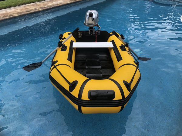 Go Plus +8 foot inflatable boat   dinghy with Honda 2.3 hp outboard Trade  or Sale 0f0f5b3a0