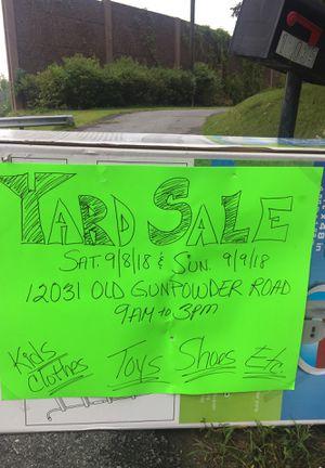 Yard sale for Sale in Beltsville, MD