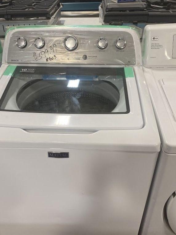Maytag top load washing machine #603