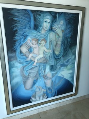 """Huge""""Angel"""" Oil Painting for Sale in Miami, FL"""