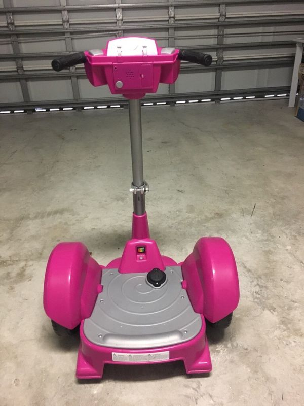 Dareway Revolution 12 Volt Electric Scooter Ride On Pink For Sale In
