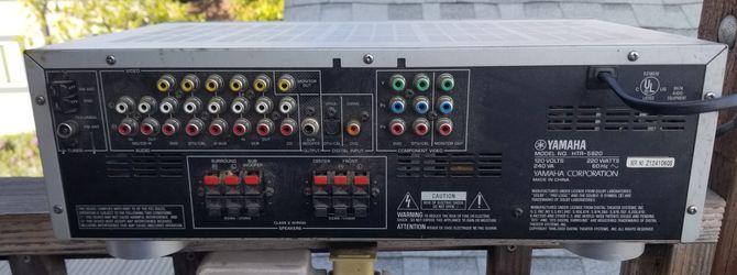 Yamaha am/fm receiver amp HTR 5920 Thumbnail