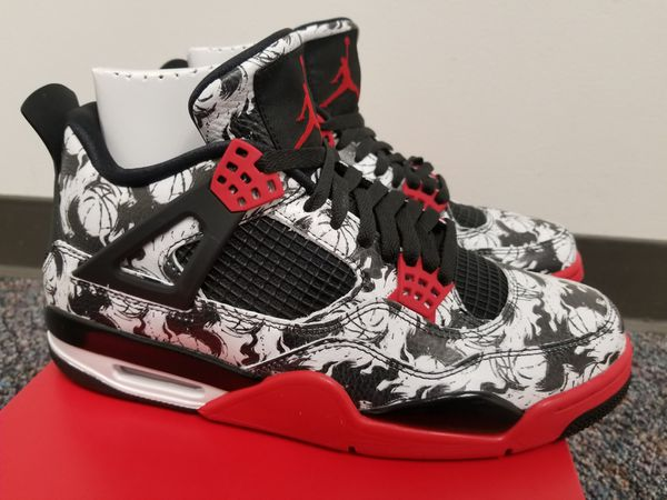 19a4d58a2fe333 Nike Jordan 4 Tattoo Size 9.5 DS With Receipt for Sale in San Jose ...