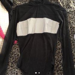 black reflective bodysuit Thumbnail