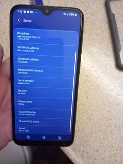 Galaxy A10E Thumbnail