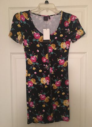 Material Girl Floral Bodycon Dress Sz XS for Sale in Silver Spring, MD