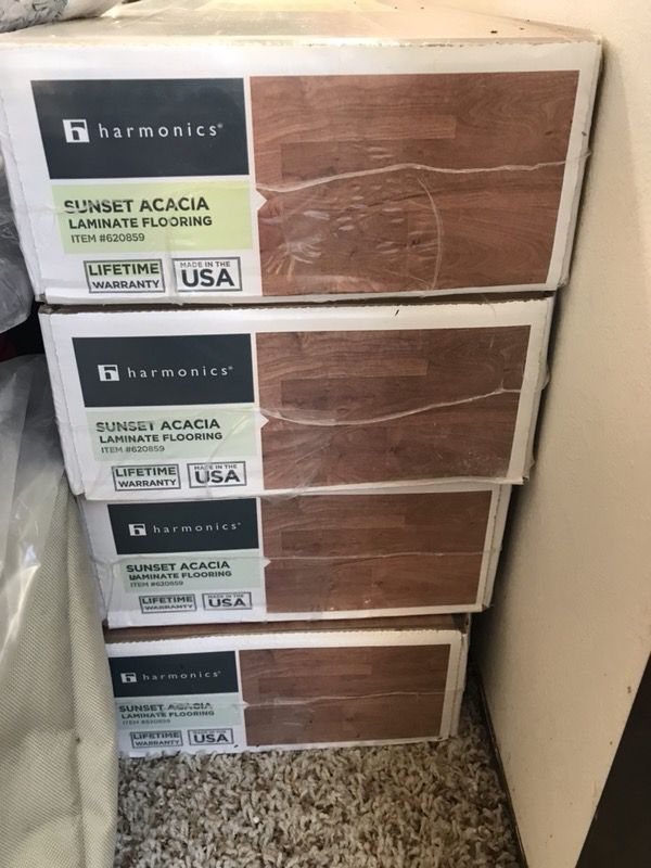 Laminate Flooring Harmonics Sunset Acacia For In Newark Ca Offerup