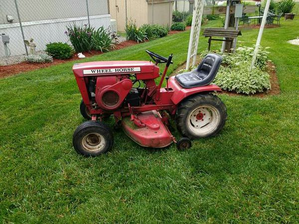 Old Wheel Horse Garden Tractor 1966 Model 1056 For Sale In Ashville Oh Offerup