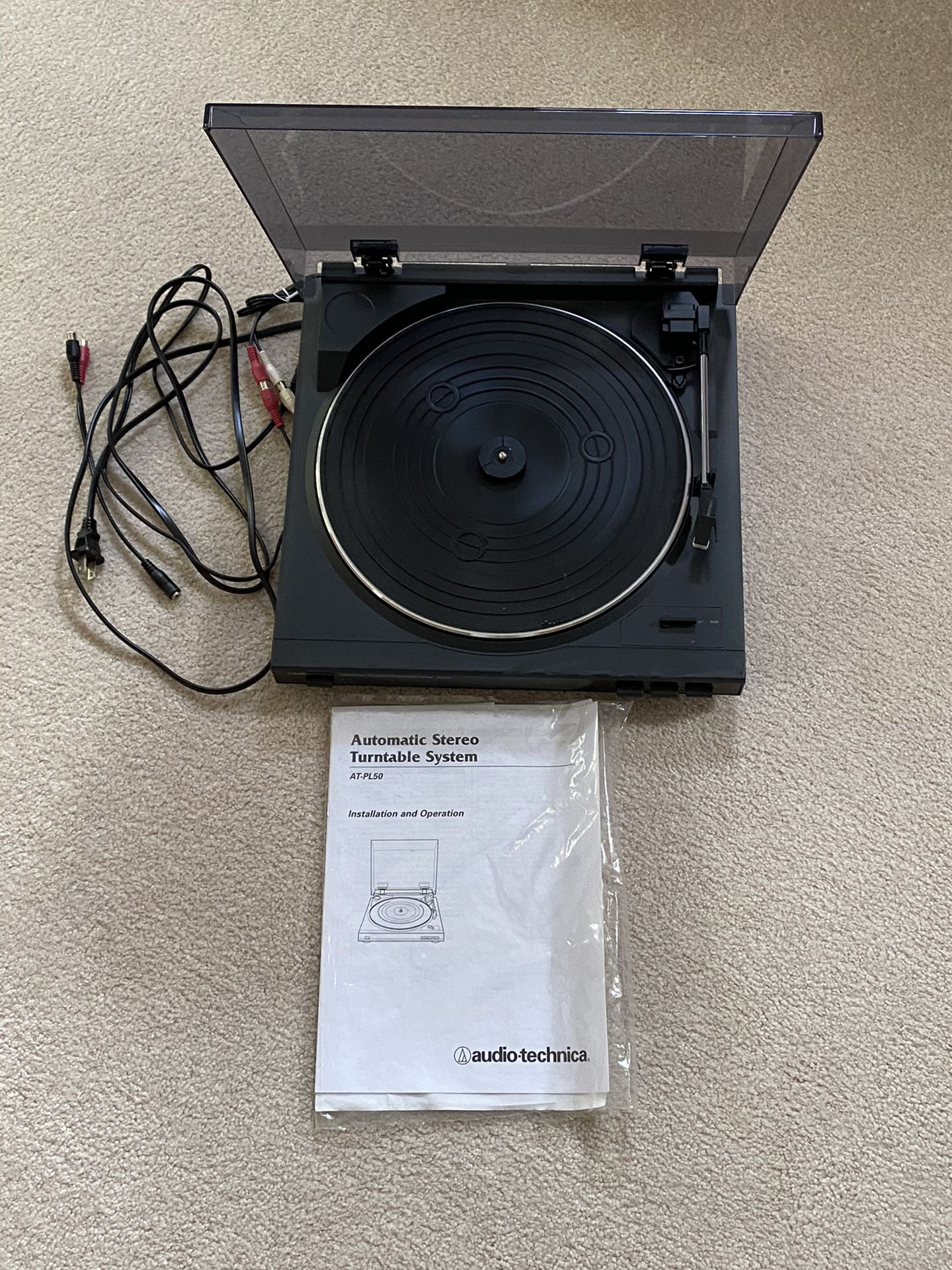 Turntable and Analog To Digial Convertor