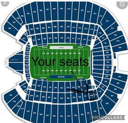 Seahawks Vs Titans Tickets - Home Opener - 200 Level Seats!! Thumbnail