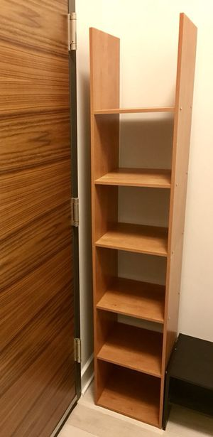 Brown Extra Lightweight 5-Layered (Book) Shelving Unit for Sale in Washington, DC