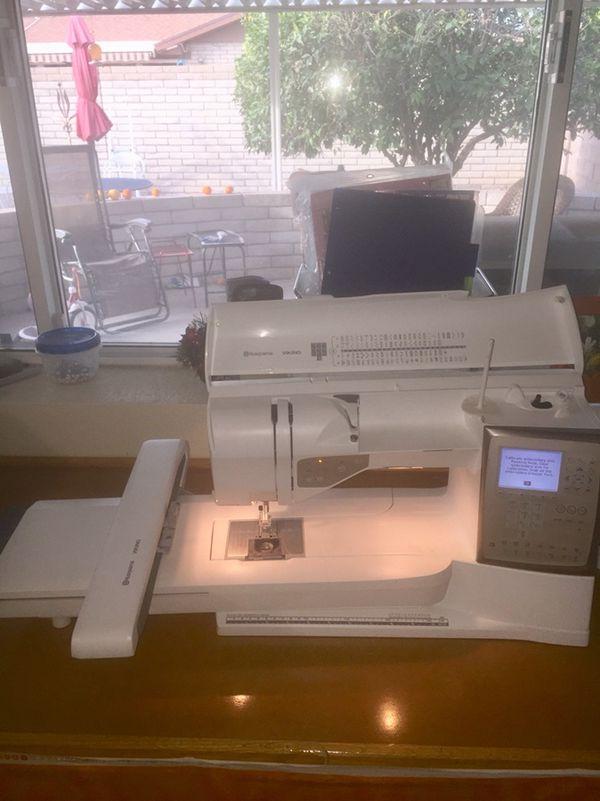 Husqvarna Viking Topaz 40 Arts Crafts In Mesa AZ OfferUp Interesting Husqvarna Topaz 20 Sewing Embroidery Machine