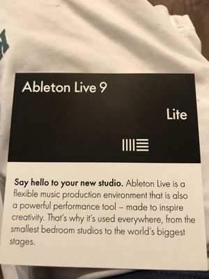 Abelton live lite for Sale in Tampa, FL