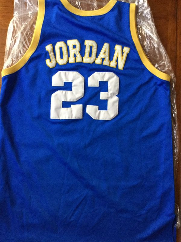 brand new 07c98 d6b0f Michael Jordan Laney High School Jersey