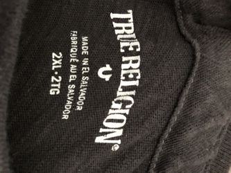 True Religion Shirt 2XL Thumbnail