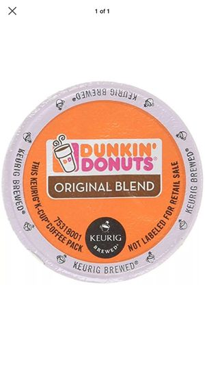 Dunkin' Donuts 72 counts 6 boxes for Sale in Oakhurst, NJ