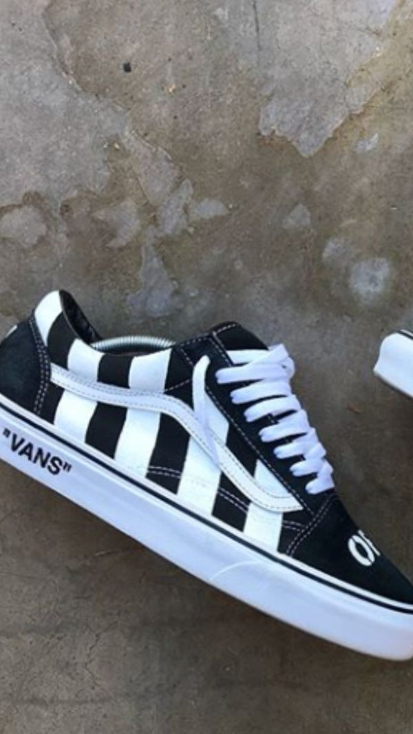 4c9db72a1d5c Off-White X Vans Customs for Sale in Laveen Village