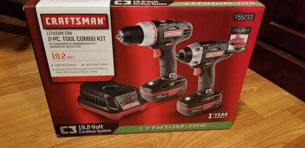 Craftsman 19 2v Drill And Impact Driver Combo Kit For In Long Beach Ca Offerup