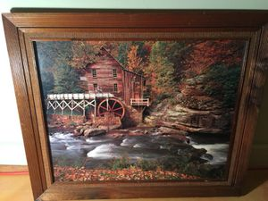 Framed photo of house on stream for Sale in St. Louis, MO