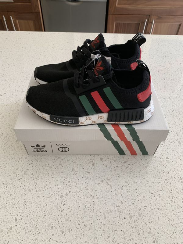 los angeles 31206 7cca0 Adidas Nmd R1 x Gucci Custom Made for Sale in West Palm Beach, FL - OfferUp