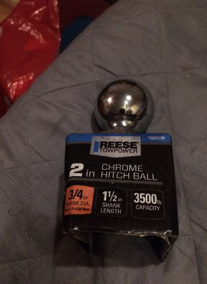 2in hitch ball for Sale in Austin, TX
