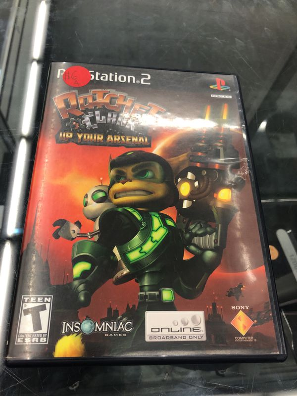 Ratchet and clank up your arsenal - PlayStation 2 for Sale in San  Bernardino, CA - OfferUp