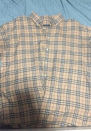 Burberry large size long sleeve for Sale in Alexandria, VA