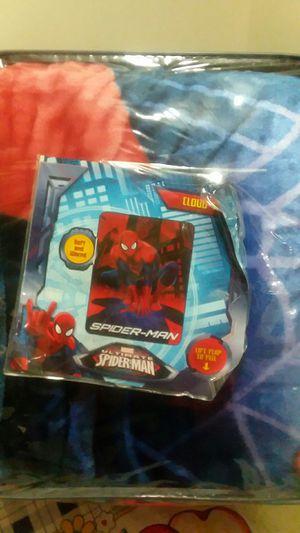 blanket del hombre araña for Sale in Manassas, VA