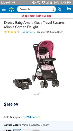 Minnie mouse stroller for Sale in Hutto, TX