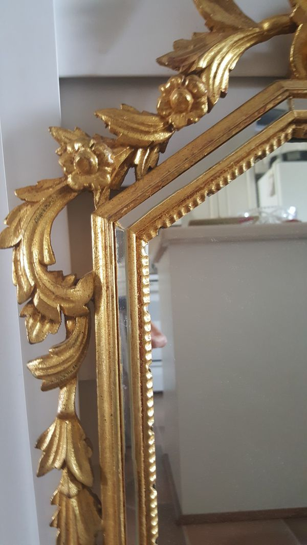 Amazing La Barge Labarge Gold Leaf Wall Mirror For In Fort Myers Fl Offerup