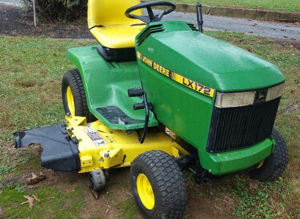 John Deere 178 Lawn Tractor : John deere lx home garden in smithsburg md offerup