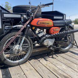 1971 kawasaki 100 cc G3TR-A Thumbnail
