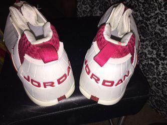 Air Jordan 15 (XV) Original (OG) Low-White/Deep Red size 16 US Thumbnail
