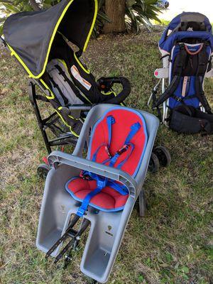 Stroller, Backpack Carrier, Bike Carrier for Sale in Fresno, CA