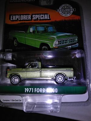 Greenlight 71 Ford explorer special f100 for Sale in Bunnell, FL