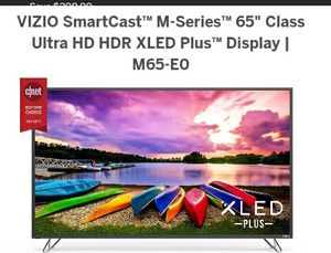 Brand new still n box never use 65inch Vizio smart cast ultra hd hdx for Sale in Baltimore, MD