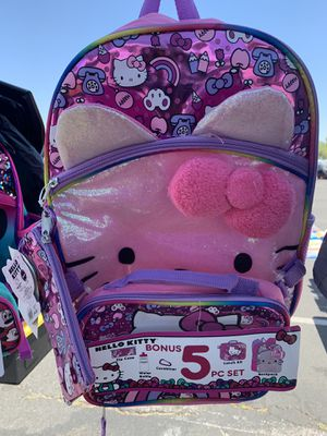 e1b753dac Hello Kitty 5 Piece Set Backpack for Sale in Riverside, CA