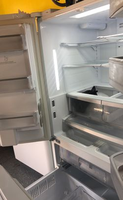 Kenmore white french door refrigerator bottom freezer Thumbnail