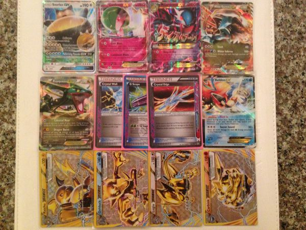 Value Pack Of 13 Ultra Rare Pokemon Tcg Cards Including Ex