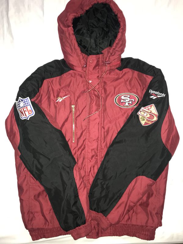 uk availability f2af2 a0f41 Vintage SAN FRANCISCO 49ERS REEBOK NFL PRO LINE JACKET 50TH Anniversary  Early 90 for Sale in San Leandro, CA - OfferUp