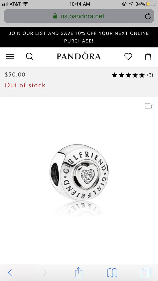 e219ffe4e5722 Pandora Girlfriend Charm for Sale in Salisbury, MD - OfferUp