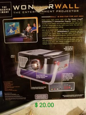 Wonder Wall Projector for Sale in Amherst, VA