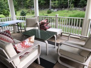 7pc patio furniture set good condition low price for Sale in Leesburg, VA