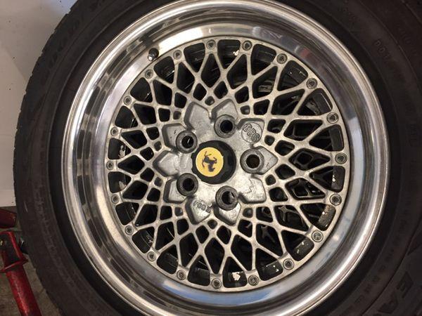 BBS E60 Ferrari Wheels 60x60 Bolt Pattern For Sale In San Jose CA Cool 5x108 Bolt Pattern